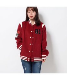 GUESS/ゲス GUESS LOGO HOPE JACKET (RUSSIAN RED)/502658171