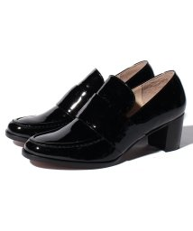 LANVINCOLLECTION(SHOES)/ヒールアップローファーパンプス/502486946