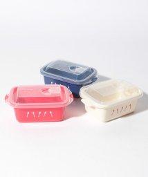 Afternoon Tea LIVING/ロゴ柄保存容器3個セットM/502550284