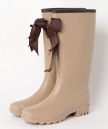 aimoha/レインブーツ レインシューズ 雨靴 長靴 レディース リボン シューズ ロング丈 ロングレインブーツ/502647085
