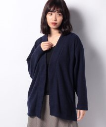 MELROSE Claire/ワッフル起毛カーディガン/502648645