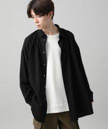 JUNRed/メランジビエラモンスタービッグシャツ/502650997