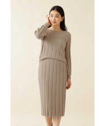 NATURAL BEAUTY BASIC/|with steady. 掲載|[洗える]ラメニットセットアップ/502655112