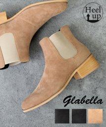glabella/【glabella/グラベラ】ヒールアップサイドゴアドレスブーツ/502659662