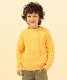 SHIPS KIDS/SHIPS KIDS:【洗えるニット】アラン シルキーニット(100~130cm)/502663693