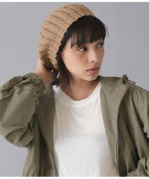 Alluge/リブニットベレー帽/502552211