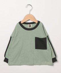 SUPERFIVE/オーバーサイズ長袖Tシャツ/502581166