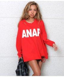 ANAP/ANAPロゴダメージビッグスウェット/502618063