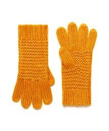 BENETTON (women)/ガーター編みニットグローブ・手袋/502631542