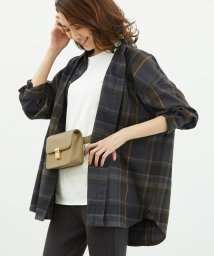 ROPE' PICNIC/起毛チェックゆるシャツ/502655209