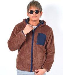 LUXSTYLE/ボアZIPパーカー/ボア パーカー メンズ ジップパーカー ポケット 長袖 フード レディース/502665915