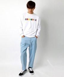 MARUKAWA/【CONVERSE】コンバース カラフルロゴ刺繍 裏毛 トレーナー/502626062