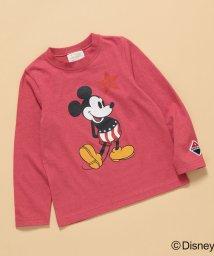 ROPE' PICNIC KIDS/【ROPE' PICNIC KIDS】【DISNEY(ディズニー)】MICKEY/ラフィ天竺Tシャツ/502626191