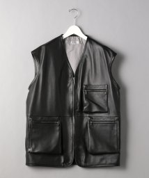 BEAUTY&YOUTH UNITED ARROWS/<TUBE> LEATHER VEST/ベスト/502651239