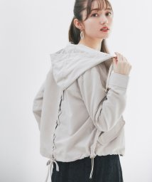 tocco closet/【美人百花5月号掲載】後ろレースアップデザインマウンテンパーカー/502655435