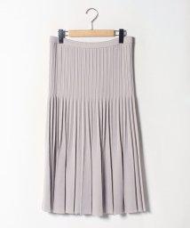 GUEST JOCONDE/【大きいサイズ】プリーツニットスカート/502658907
