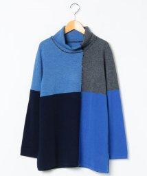 LAPINE ROUGE/【大きいサイズ】GOBIカシミヤ インターシャセーター/502658925