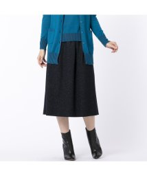Liliane Burty ECLAT/ネップツイードスカート/502667500