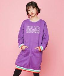 JENNI love/カラフルリブ裏起毛ワンピ/502668583