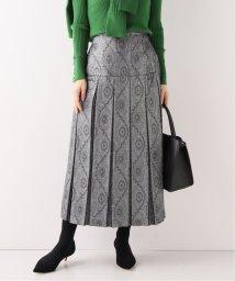 Spick & Span/【RITO】 METALLIC PLEATS SKIRT /  メタリックプリーツスカート/502669090