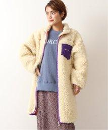U by Spick&Span/【Champion】ボアフリースロングジャケット◆/502669633
