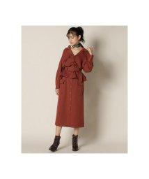 REDYAZEL/ダブルポケットフロントボタンタイトスカート/502650931