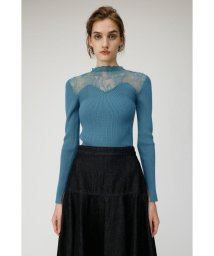 moussy/LACE KNIT COMBI トップス/502671169