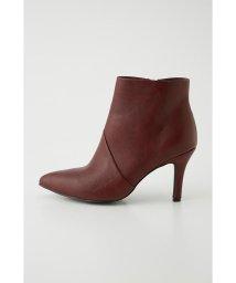 rienda/F leather slanting booties/502671230