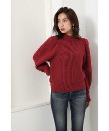 rienda/Puff Shoulder Knit TOP/502671249