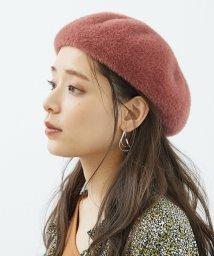 ROPE PICNIC PASSAGE/エコシャギーベレー帽/502669265