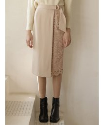 TONAL/アシメレースタイトスカート/502616964