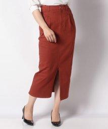 Omekashi/【Omekashi】リメイクツイルタイトスカート/502659061