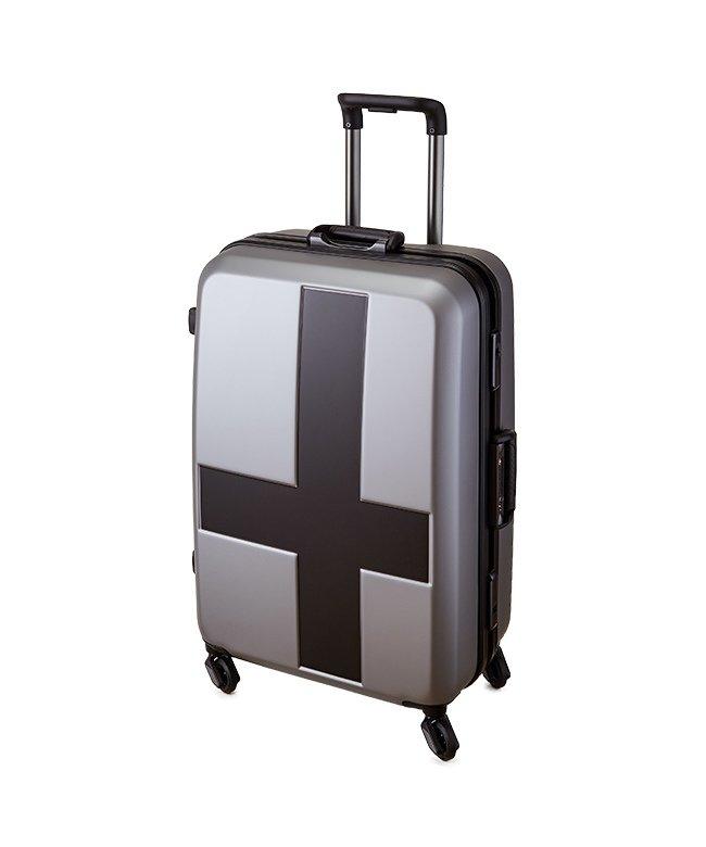 カバンのセレクション イノベーター クロスペイント スーツケース 60L Mサイズ フレームタイプ innovator INV58T ユニセックス ブラック フリー 【Bag & Luggage SELECTION】