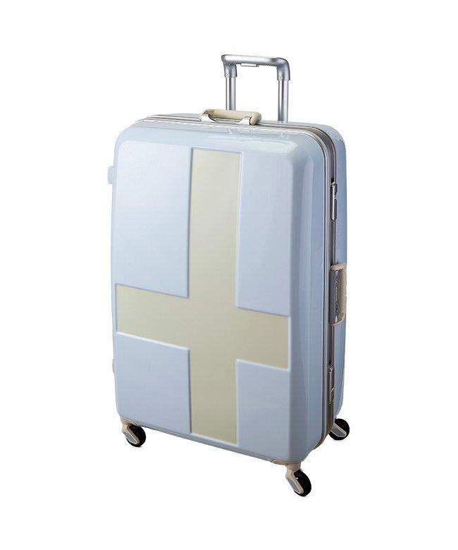 カバンのセレクション イノベーター クロスペイント スーツケース 90L Lサイズ フレームタイプ innovator INV68T ユニセックス アイボリー フリー 【Bag & Luggage SELECTION】