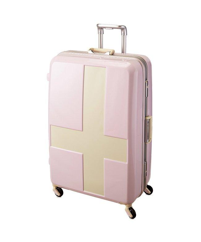 カバンのセレクション イノベーター クロスペイント スーツケース 90L Lサイズ フレームタイプ innovator INV68T ユニセックス アイボリー系1 フリー 【Bag & Luggage SELECTION】