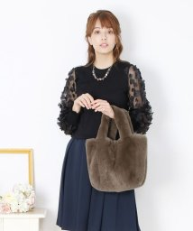 sankyoshokai/レッキス ファーハンドバッグ/502673925