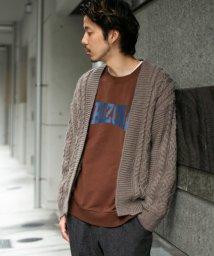 URBAN RESEARCH Sonny Label/ケーブルざっくりカーディガン/502674290