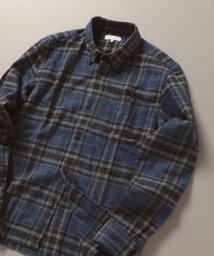 SHIPS JET BLUE/SHIPS JET BLUE: ネル チェック レギュラーシャツ/502674595