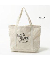 MAISON KITSUNE/SHOPPING BAG キャンバス トートバッグ AU05100WW0008 CU05104WW0008 カラー2色 ユニセックス/502443953