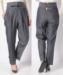 SHIPS WOMEN/【SHIPS for women】(3853)PS:2TUCK BELTED RBN DEN   /502542967