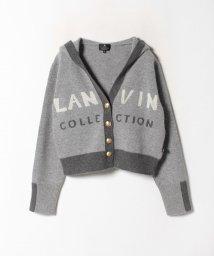 LANVIN COLLECTION/フーディカーディガン/502575774
