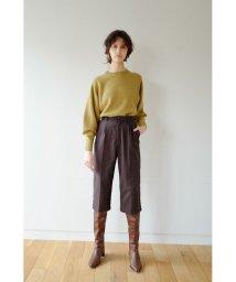 CLANE/SLACKS HALF PANTS/502600617