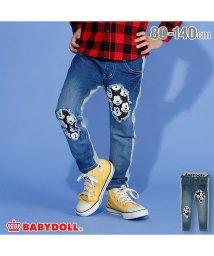 BABYDOLL/ディズニー ダメージデニムロングパンツ 2997K/502647143
