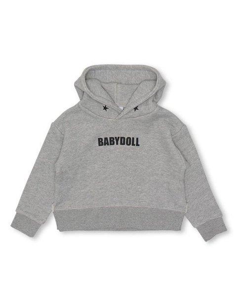 BABYDOLL(ベビードール)/親子お揃い 星メッセージパーカー 2936K/BDMR032936