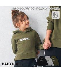 BABYDOLL/親子お揃い 星メッセージパーカー 2936K/502649150
