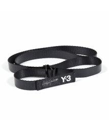 Y-3/adidas アディダス YOHJI YAMAMOTO FH9340 MINI BELT ナロー ロゴ Dカンベルト BLACK メンズ/502671996