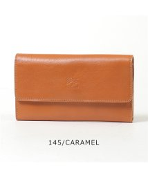 IL BISONTE/C0812 P VACCHETTA レザー 二つ折り長財布 カラー3色 /502672033