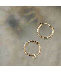 LOUISE DAMAS/LD AUG 5 Augustine オーガスティン Medium hoop earrings ピアス フープ ゴールド レディース/502672076