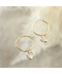 LOUISE DAMAS/LD LOL 1 Lolita ロリータ Hoop earrings ピアス ハート フープ ゴールド レディース/502672086