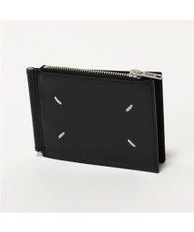 MAISON MARGIELA/11 S35UI0447 P2714 T8013 レザー マネークリップ付き 二つ折り財布 スモール財布 メンズ/502672090